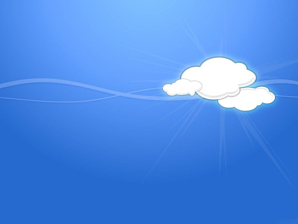 Abstract Wallpaper: Vector Cloud