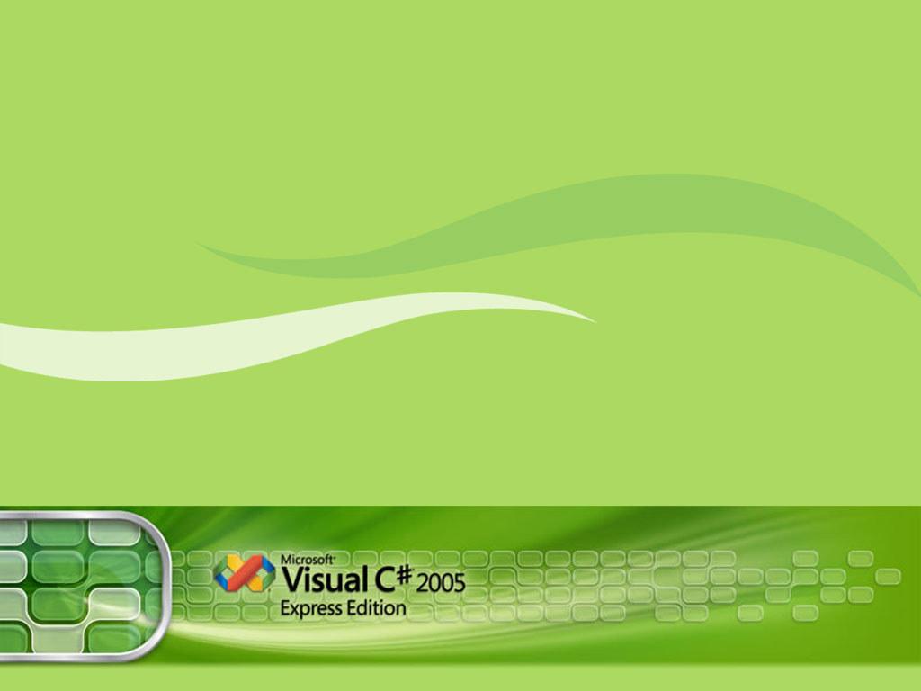 Abstract Wallpaper: Visual C# 2005
