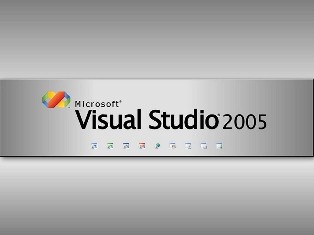 Abstract Wallpaper: Visual Studio 2005