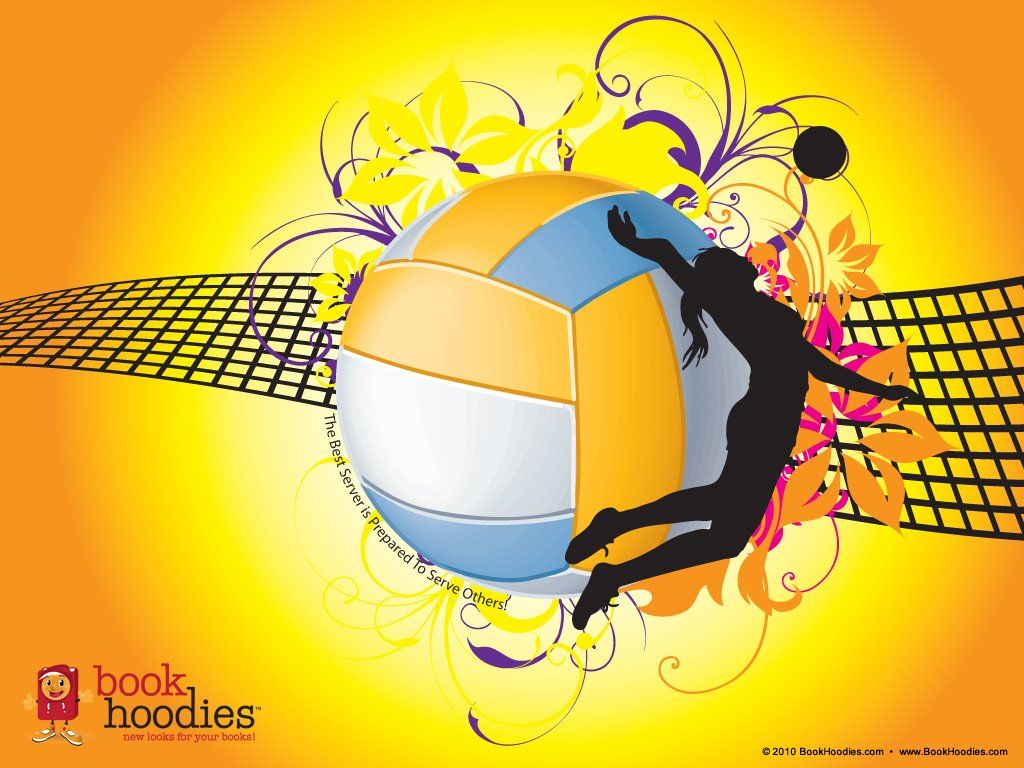 Abstract Wallpaper: Volleyball