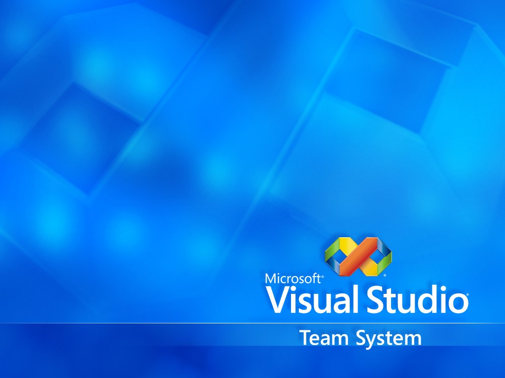 Abstract Wallpaper: Visual Studio Team System