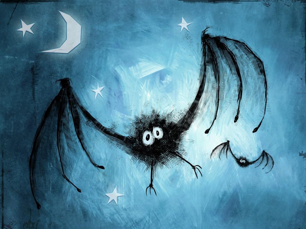 Abstract Wallpaper: Weird Bats