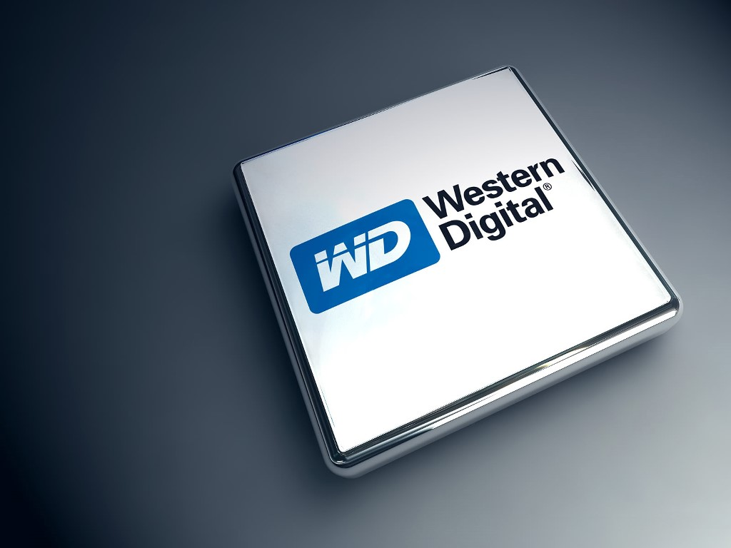 Abstract Wallpaper: Western Digital