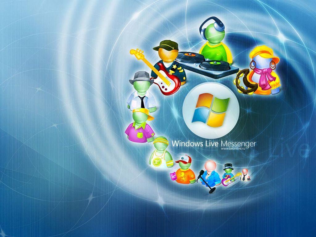 Abstract Wallpaper: Windows Live Messenger