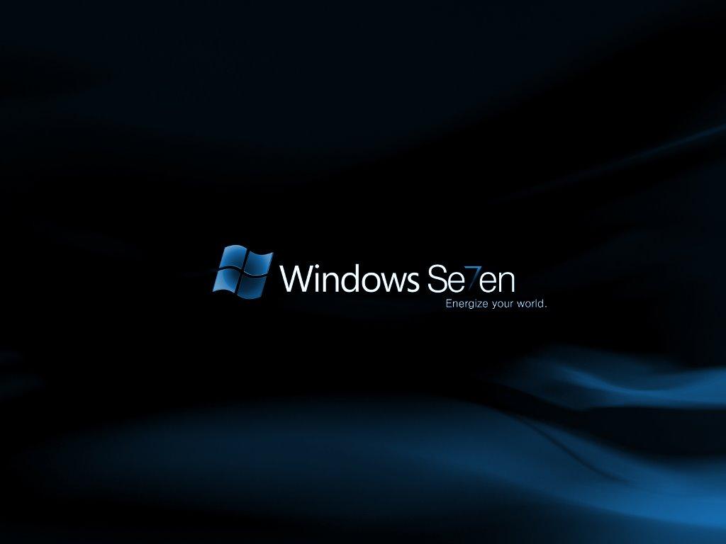 Abstract Wallpaper: Windows Se7en