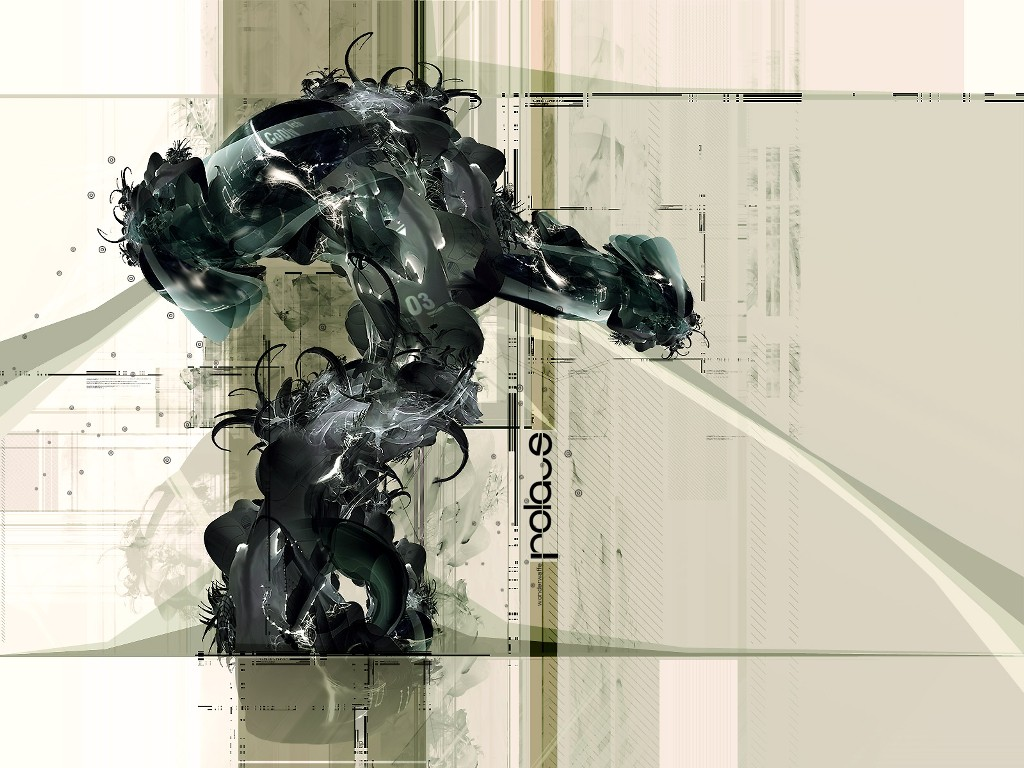 Abstract Wallpaper: Wonderwaffe