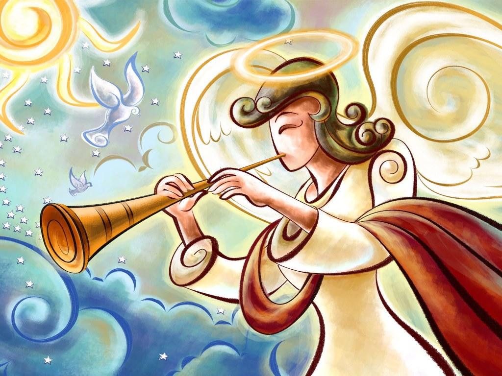 Abstract Wallpaper: Xmas - Angel