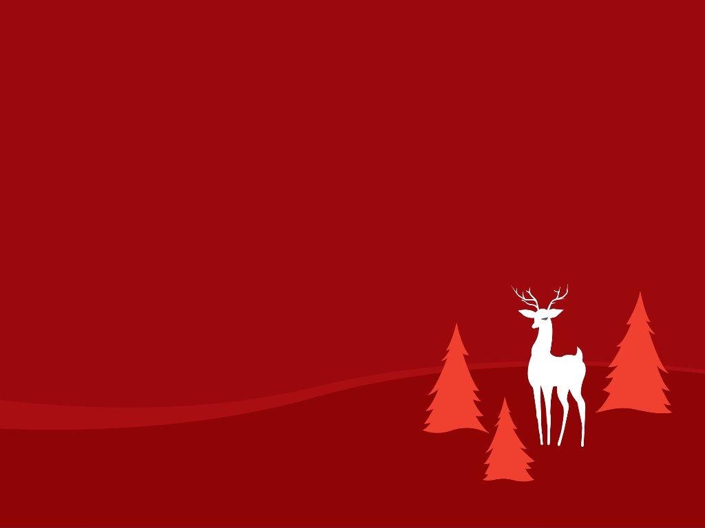 Abstract Wallpaper: Xmas - Deer