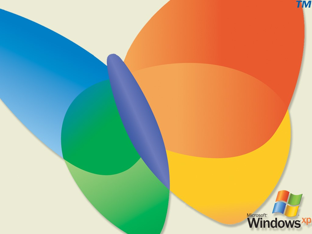Abstract Wallpaper: Windows XP - Butterfly