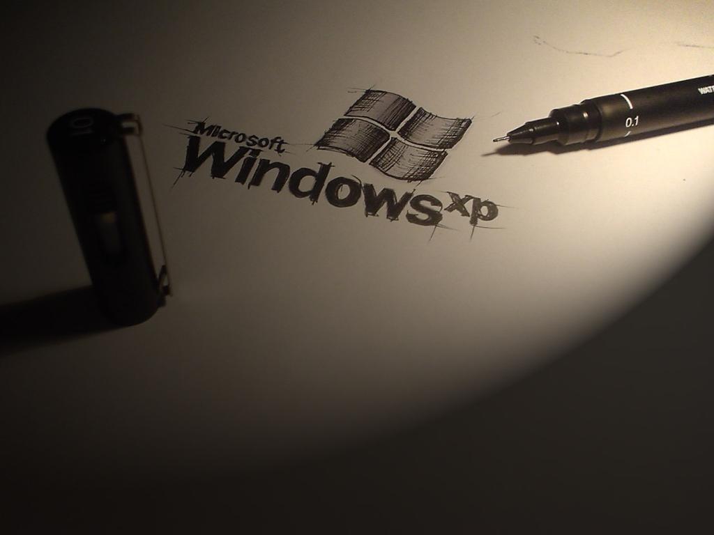 Abstract Wallpaper: Windows XP