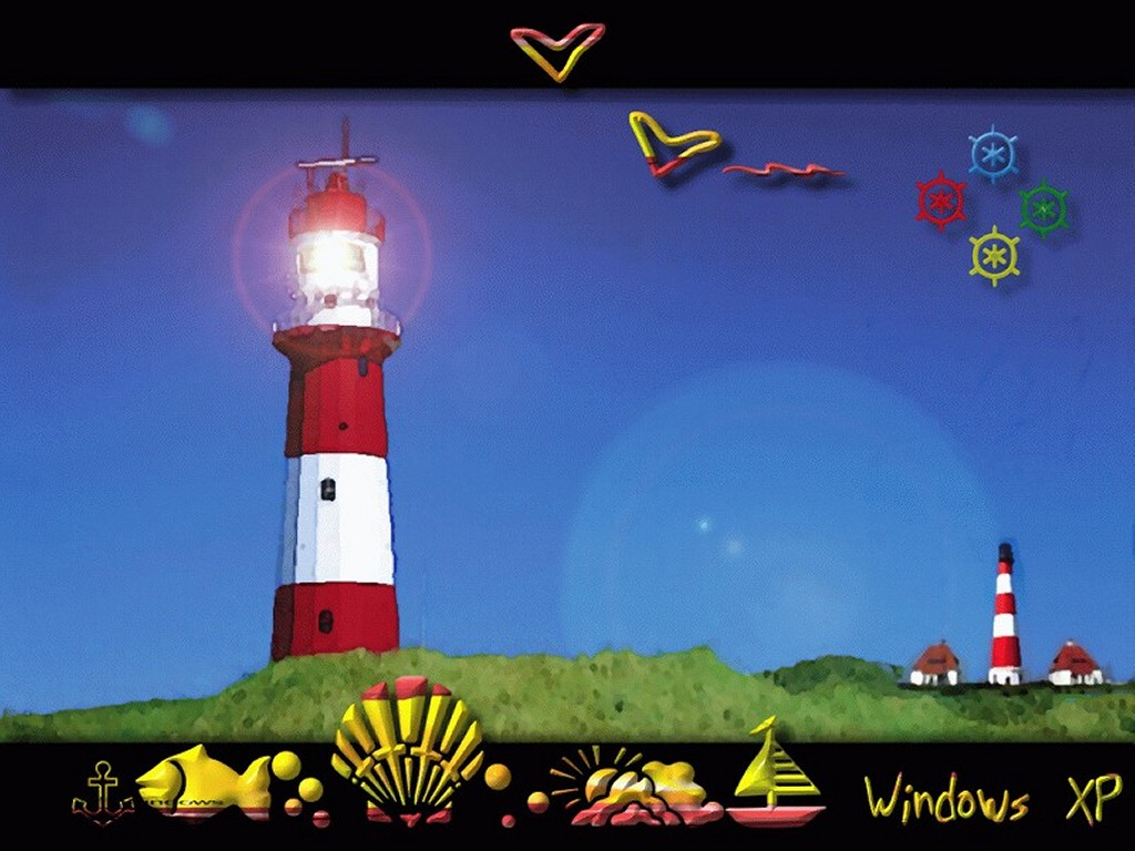 Abstract Wallpaper: XP - Lighthouse