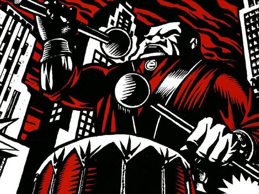Artistic Wallpaper: Aidan Hughes - KMFDM