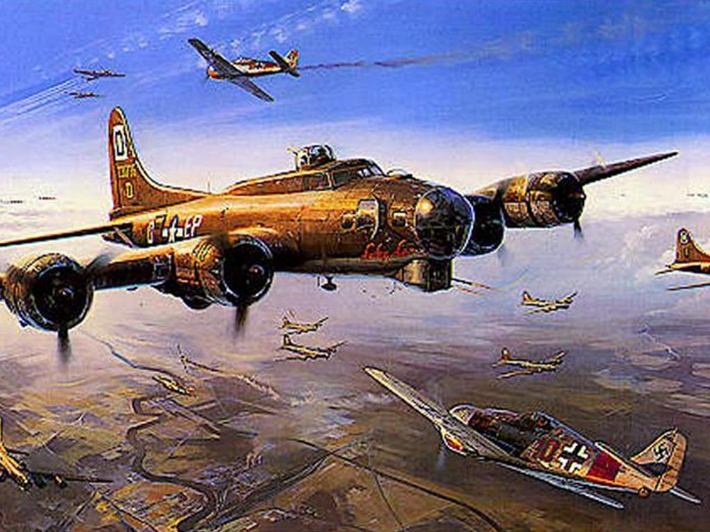 Artistic Wallpaper: Air War Europe
