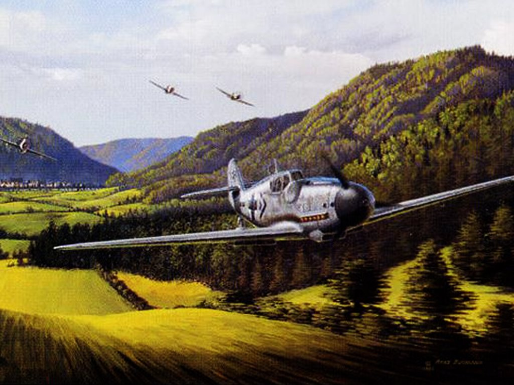 Artistic Wallpaper: Air War Europe