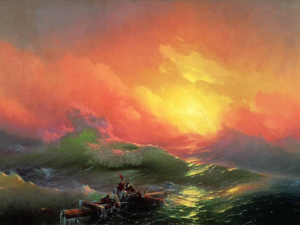 Artistic Wallpaper: Aivazovsky - The Ninth Wave