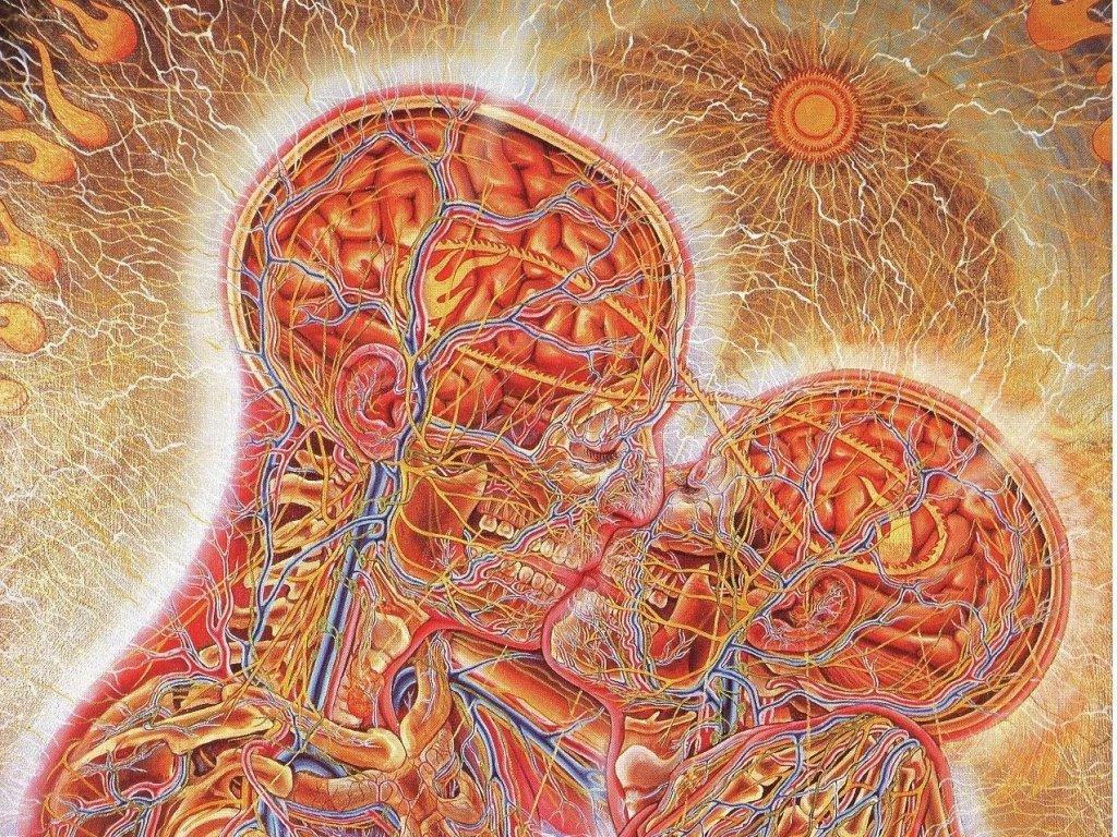 Artistic Wallpaper: Alex Grey