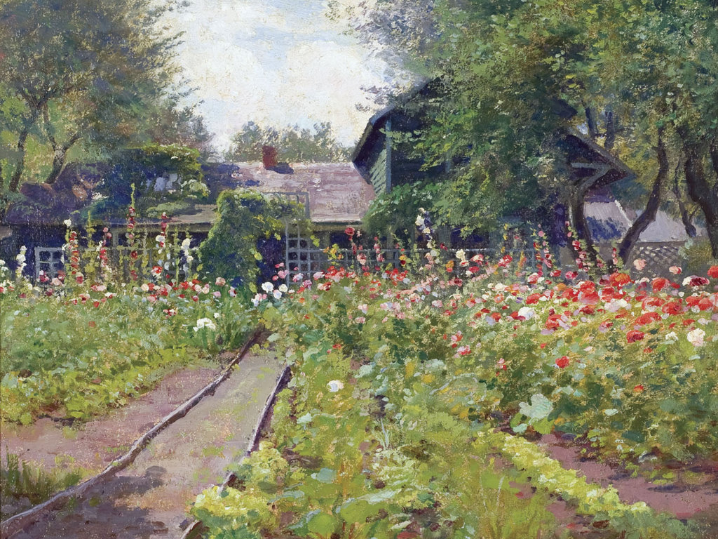 Artistic Wallpaper: Alexis Fournier - My Garden, East Aurora, New York