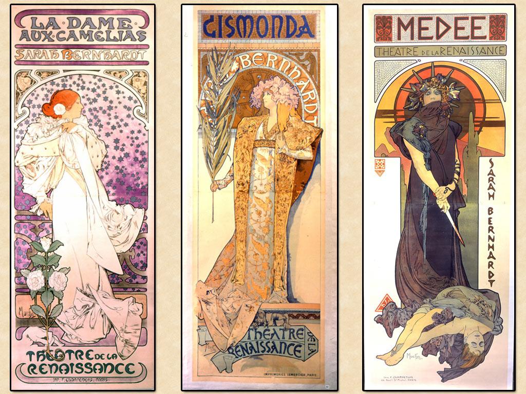 Artistic Wallpaper: Alphonse Mucha - Lithos