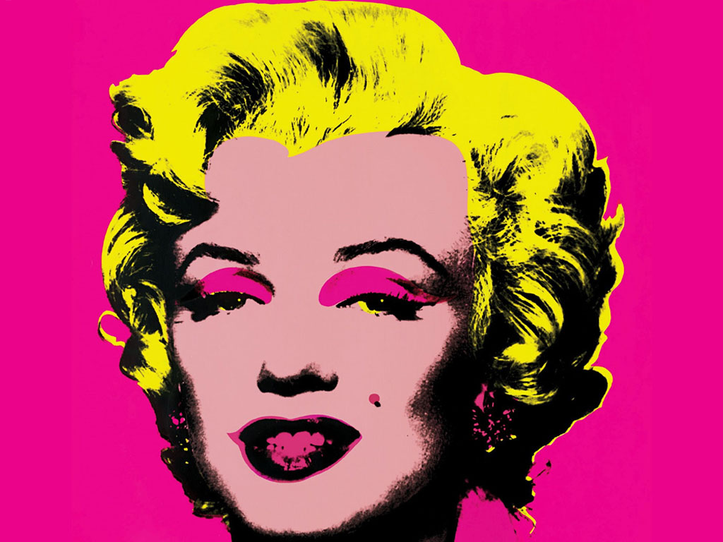 Artistic Wallpaper: Andy Warhol - Marilyn