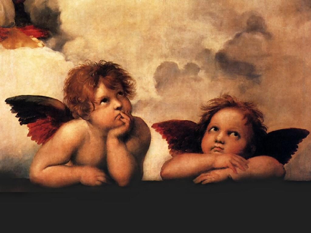 Artistic Wallpaper: Angels