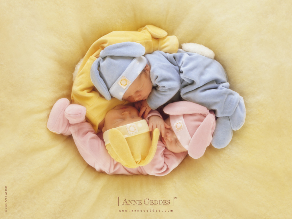 Artistic Wallpaper: Anne Geddes