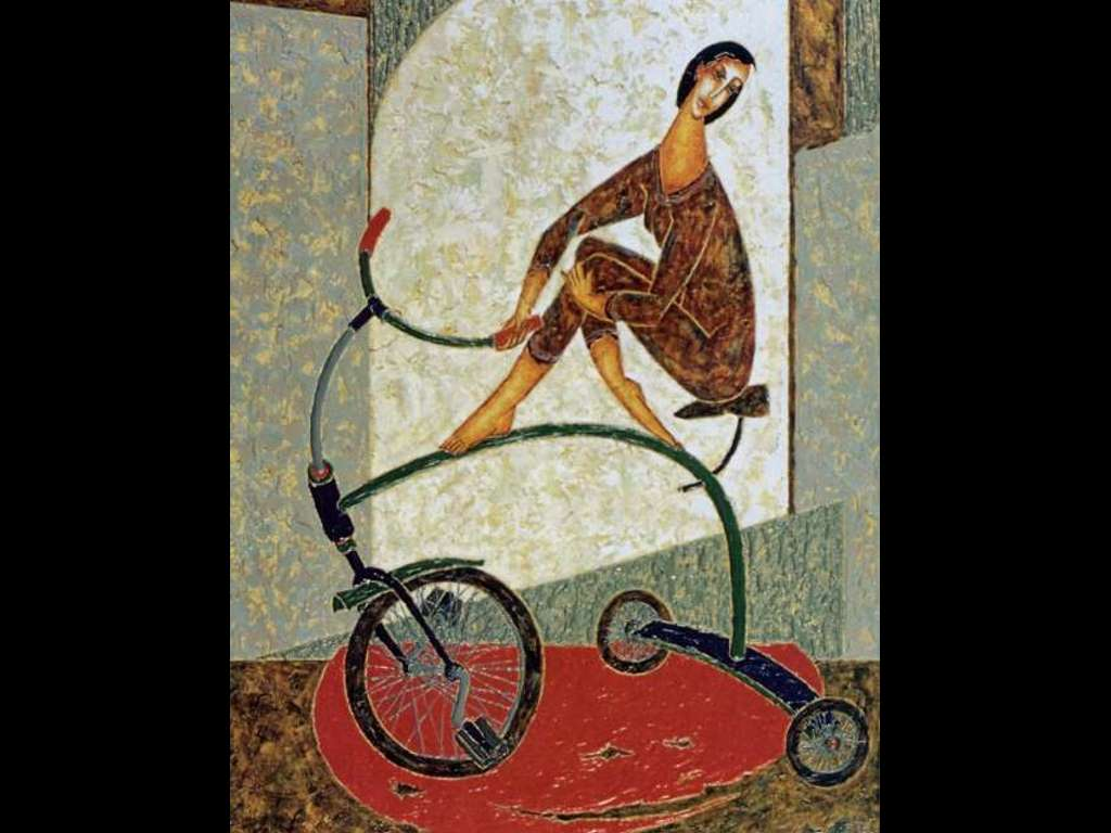 Artistic Wallpaper: Armand Cote - Le Funambule