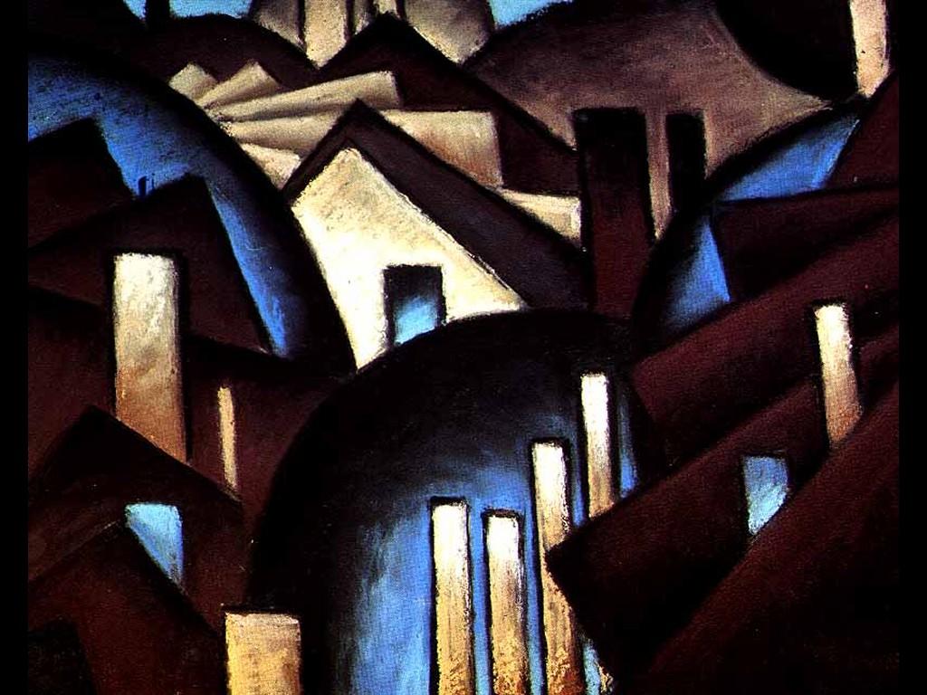 Artistic Wallpaper: Arthur Garfield Dove - Nature Symbolized