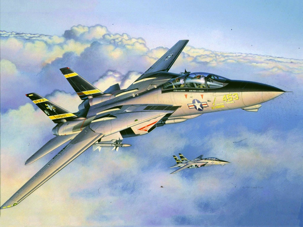 Artistic Wallpaper: Aviation Art