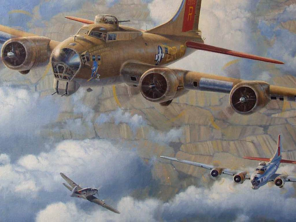 Artistic Wallpaper: B-17