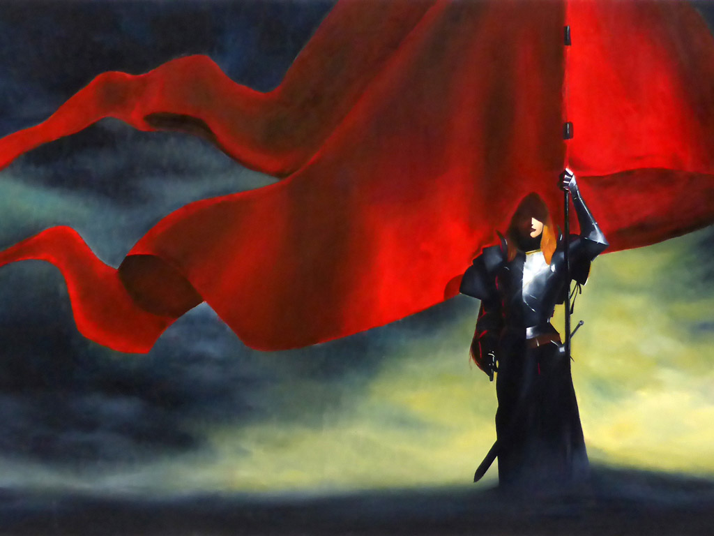 Artistic Wallpaper: Bankotsu - Joan of Arc