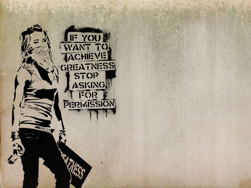 Artistic Wallpaper: Banksy