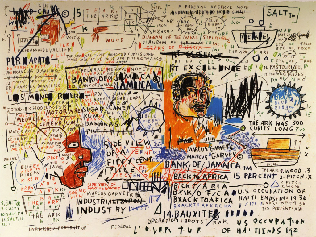 Artistic Wallpaper: Basquiat - 50 Cent Piece