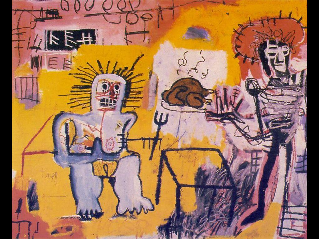 Artistic Wallpaper: Basquiat - Arroz con Pollo