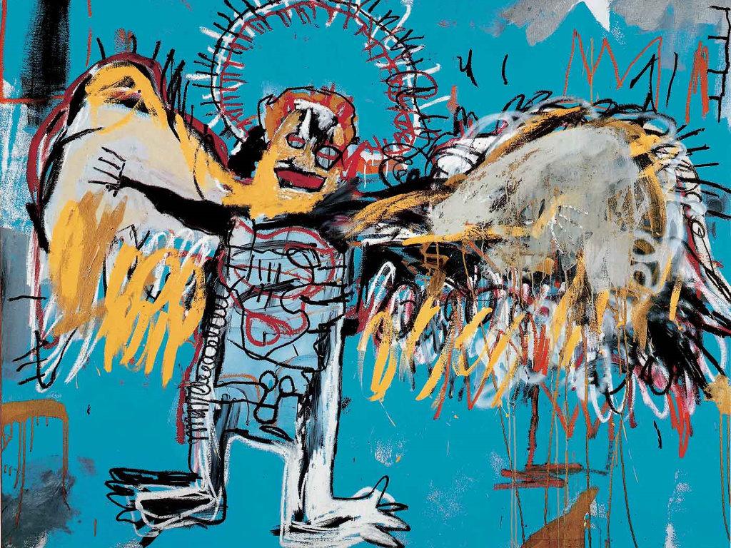 Artistic Wallpaper: Basquiat - Fallen Angel