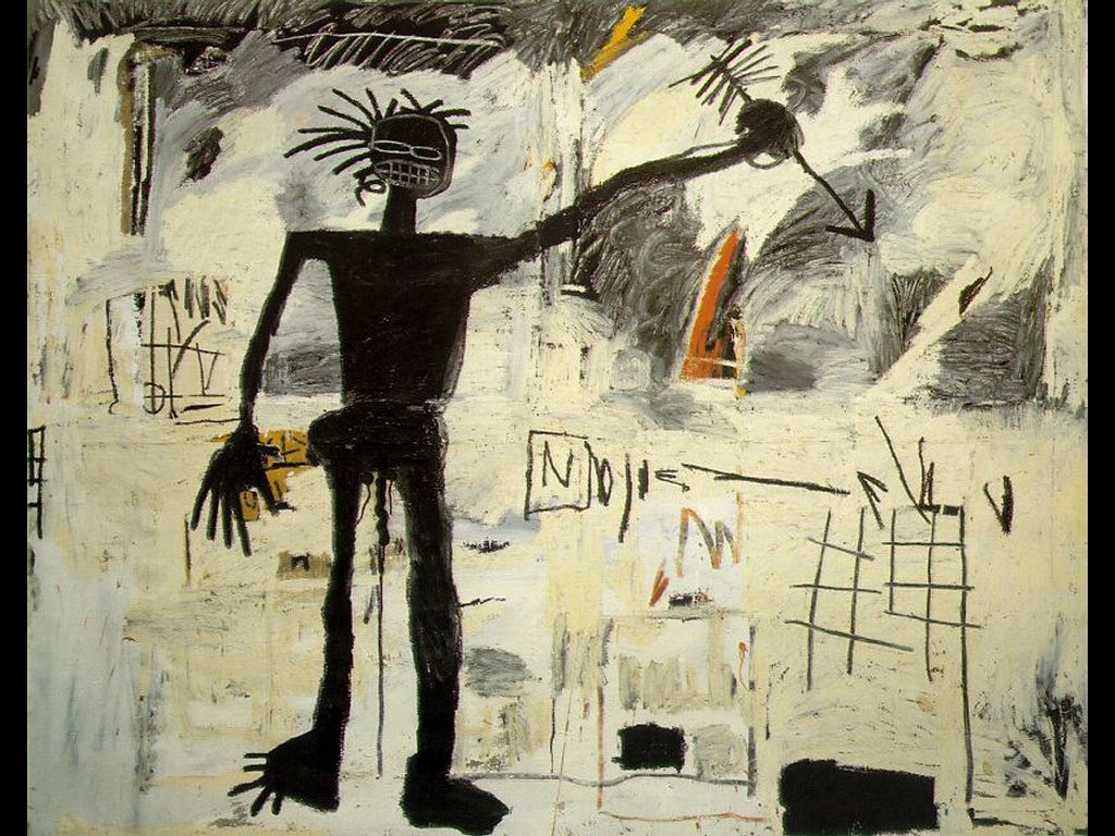 Artistic Wallpaper: Basquiat - Self-Portrait
