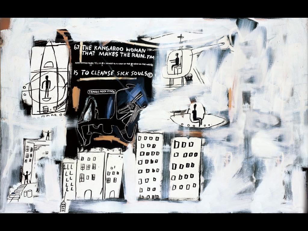 Artistic Wallpaper: Basquiat