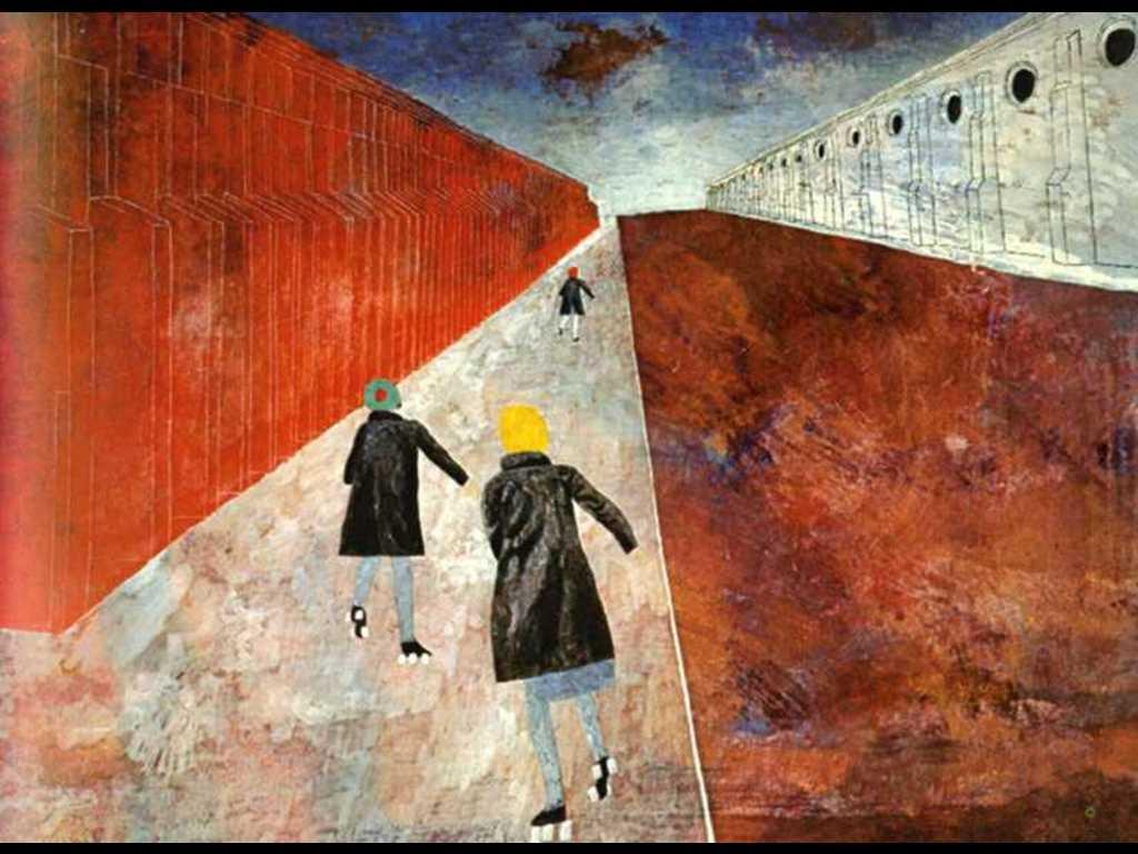 Artistic Wallpaper: Ben Shahn - East Twelfth Street