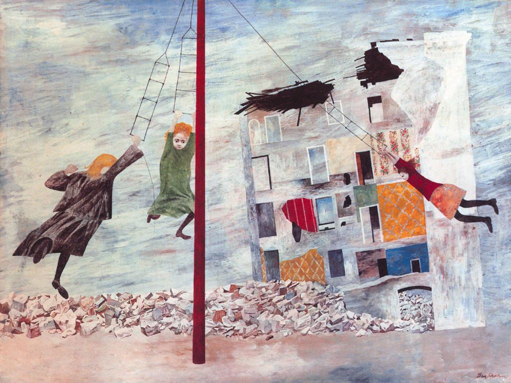 Artistic Wallpaper: Ben Shahn - Liberation