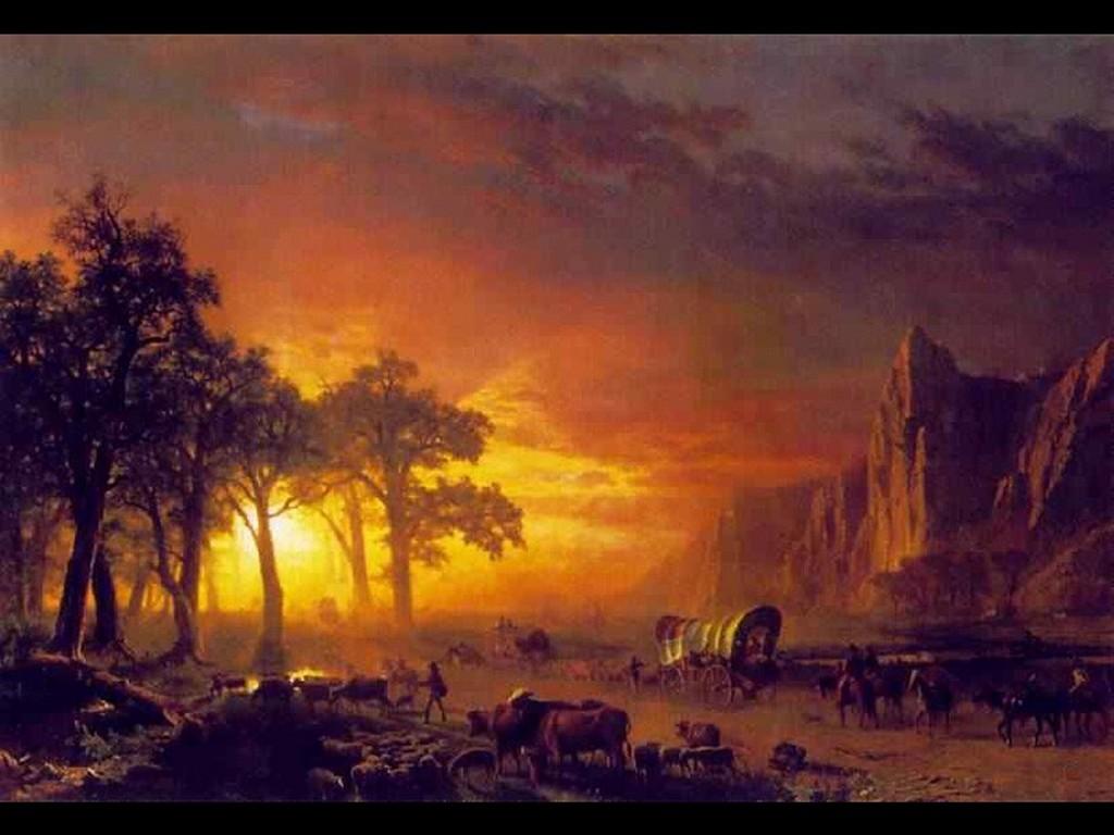 Artistic Wallpaper: Bierstadt