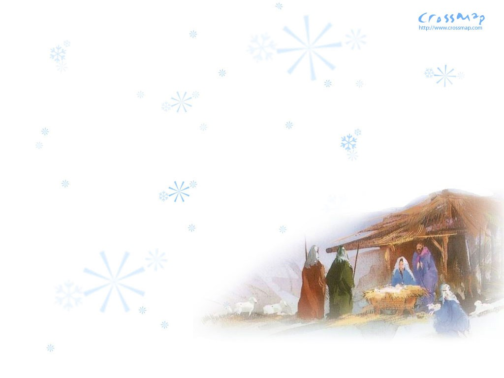 Artistic Wallpaper: Birth of Jesus Christ