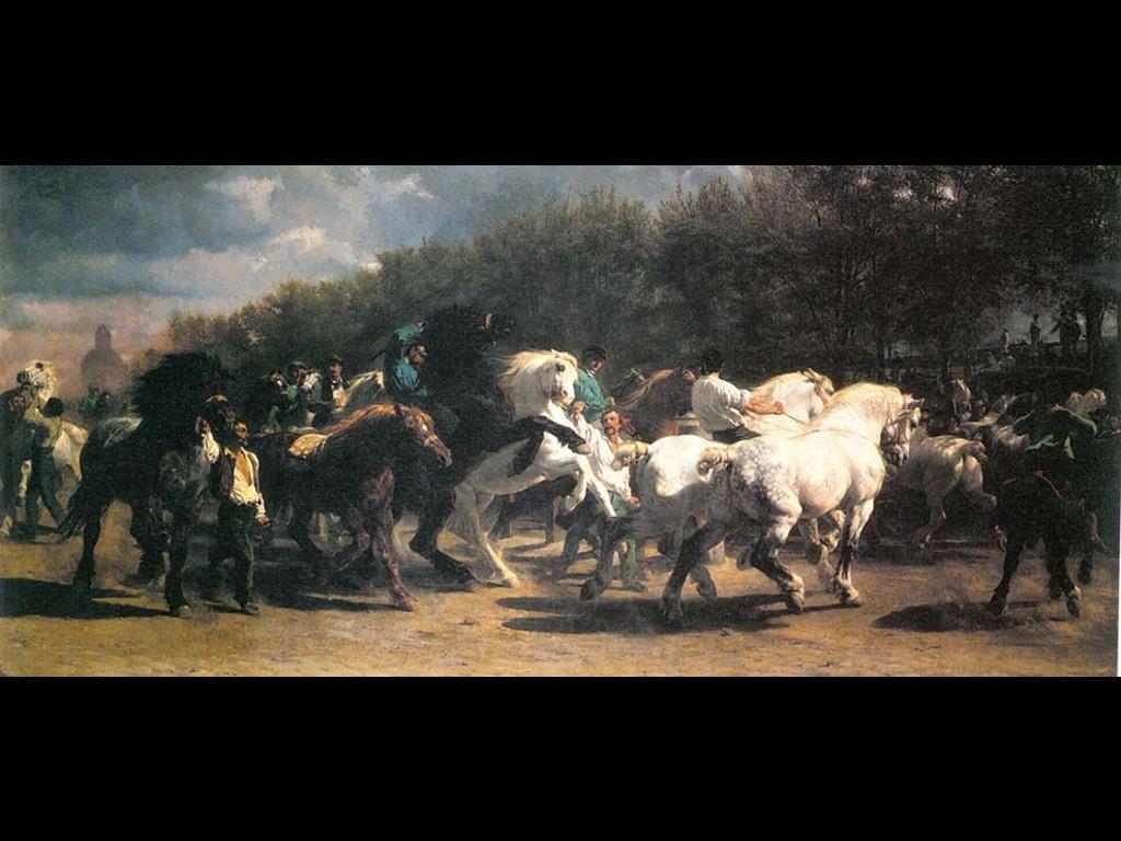 Artistic Wallpaper: Bonheur - Horses