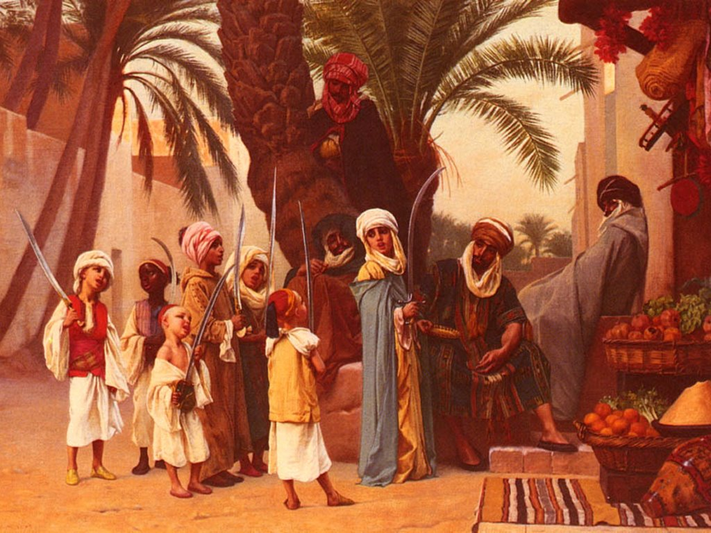 Artistic Wallpaper: Boulanger - A Tale of 1001 Nights