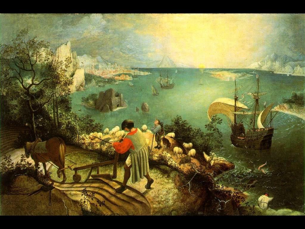 Artistic Wallpaper: Bruegel - Icarus