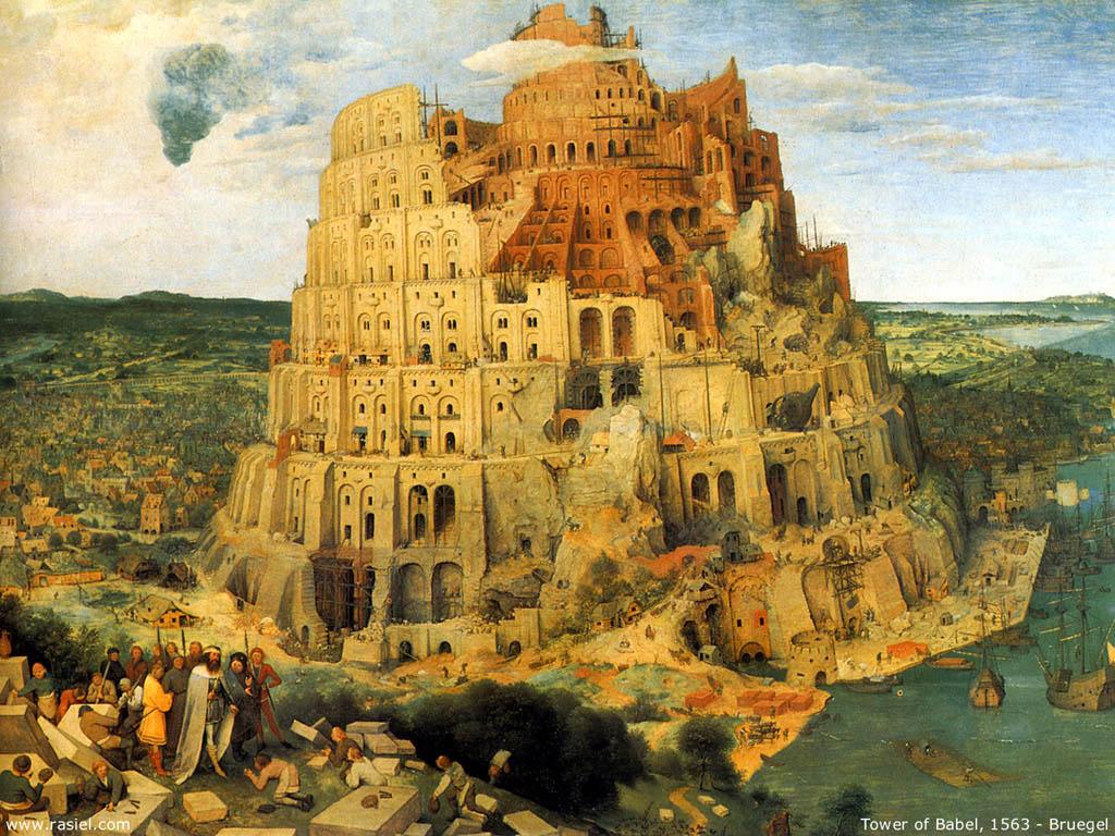 Artistic Wallpaper: Bruegel - Tower of Babel