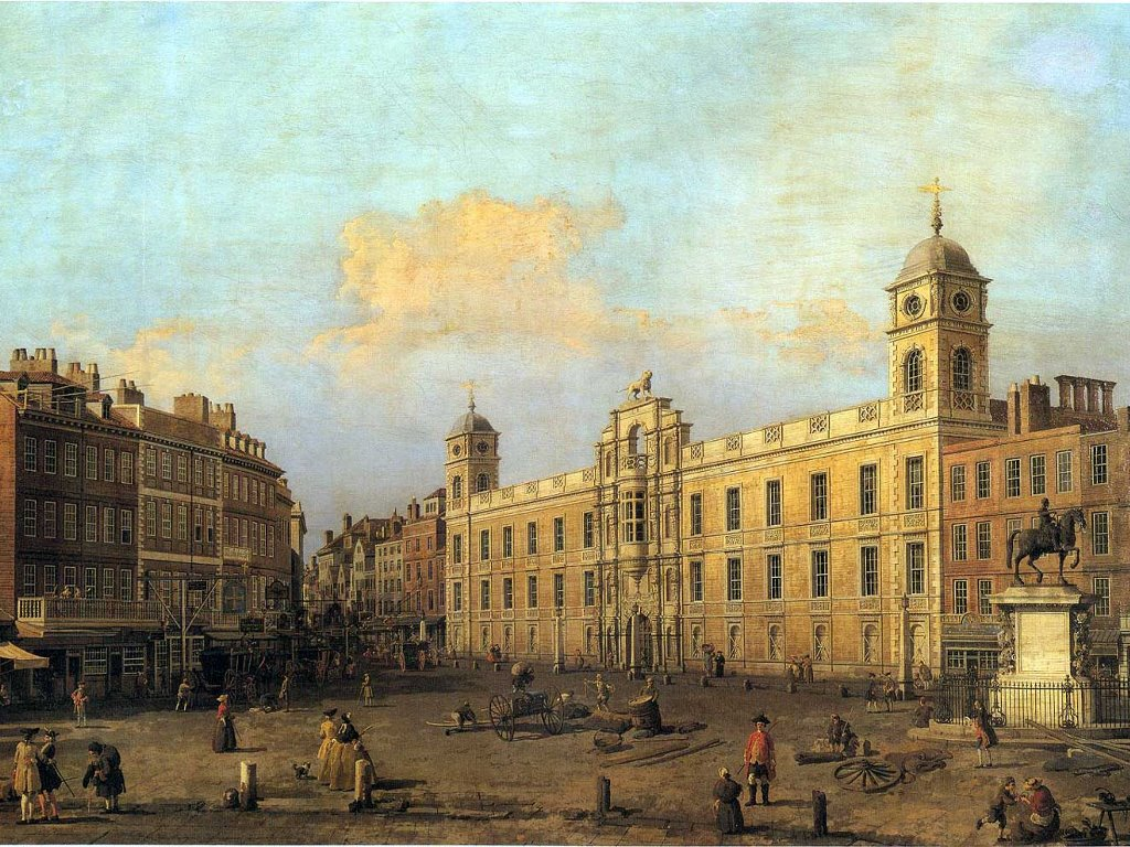 Artistic Wallpaper: Canaletto - Northumberland House