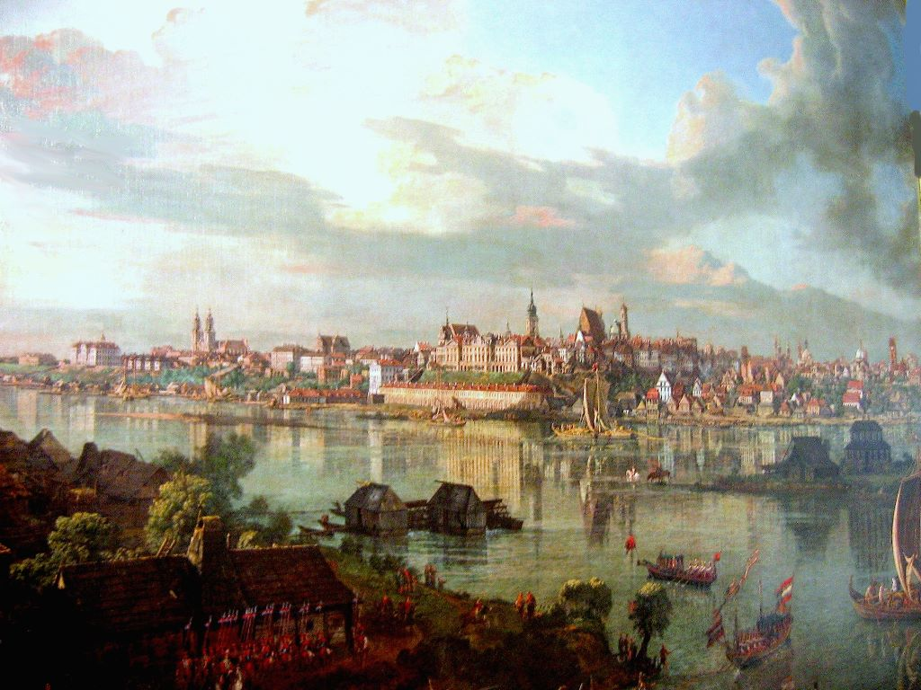Artistic Wallpaper: Canaletto - Varsovie