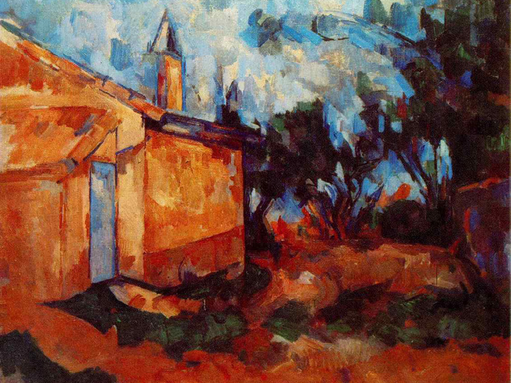 Artistic Wallpaper: Cezanne