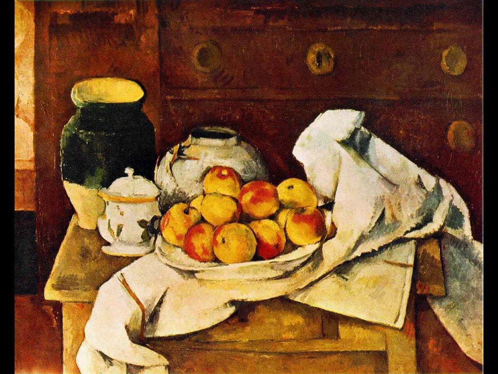 Artistic Wallpaper: Cezanne - Still Life