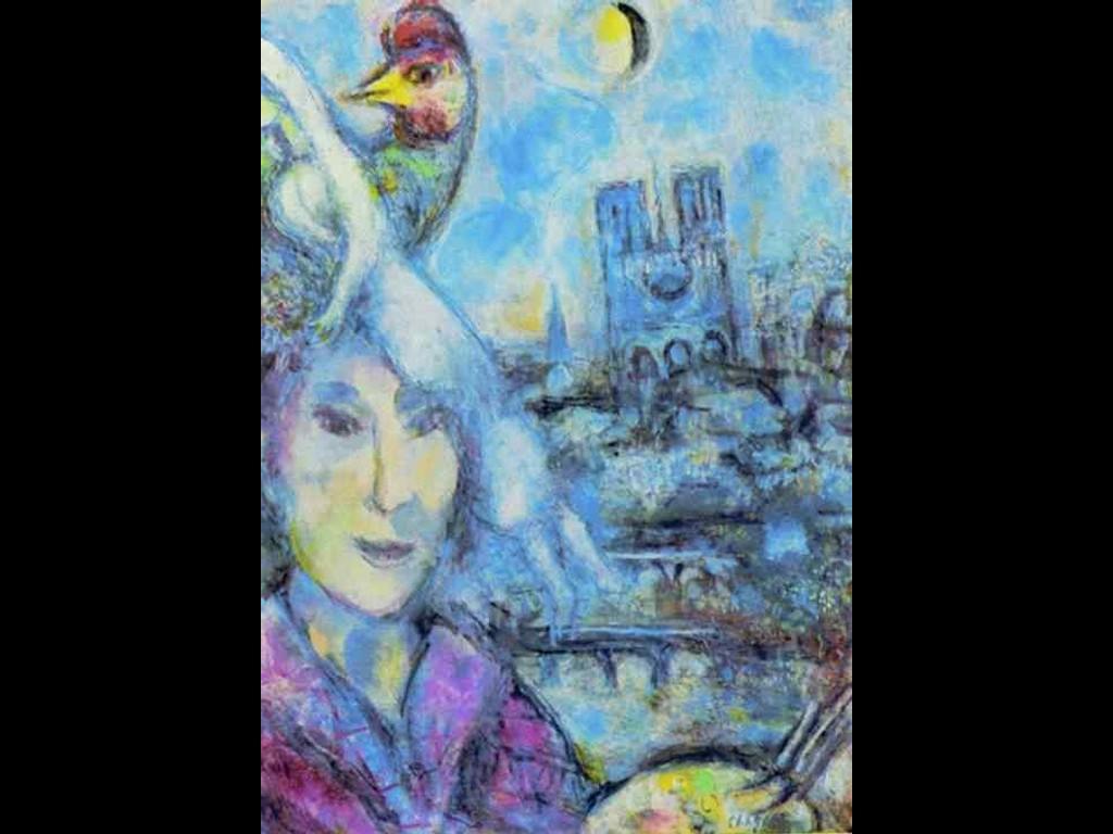 Artistic Wallpaper: Chagall