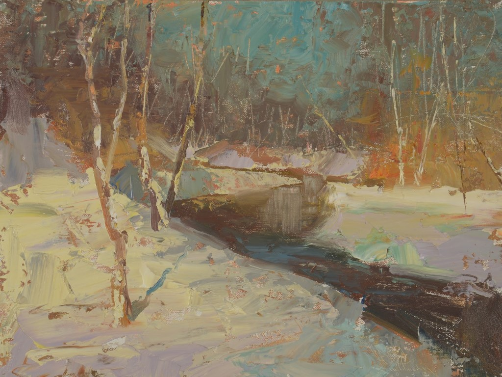 Artistic Wallpaper: Charles Warren Mundy - Early Afternoon Light